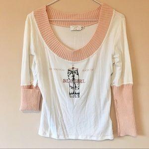 BluGirl sweater top